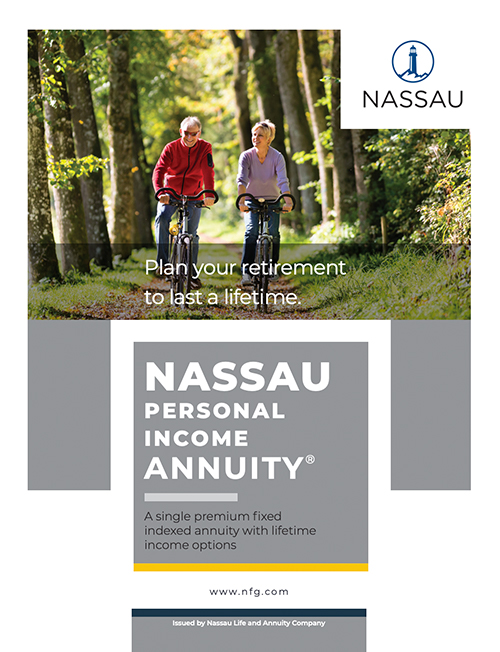 NSRE Personal Income Annuity Brochure Cover